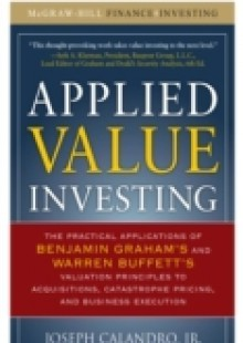 Обложка книги  - Applied Value Investing, Conclusion