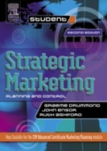 Обложка книги  - Strategic Marketing: Planning and Control