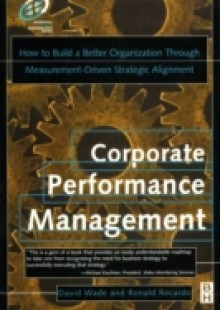 Обложка книги  - Corporate Performance Management
