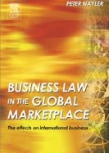 Обложка книги  - Business Law in the Global Marketplace