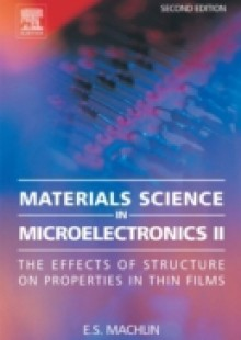 Обложка книги  - Materials Science in Microelectronics II
