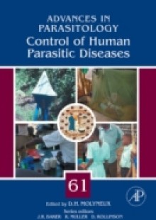 Обложка книги  - Control of Human Parasitic Diseases