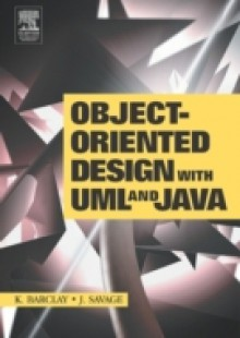 Обложка книги  - Object-Oriented Design with UML and Java