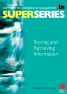 Обложка книги  - Storing and Retrieving Information Super Series