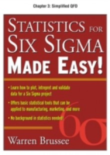 Обложка книги  - Statistics for Six Sigma Made Easy, Chapter 3