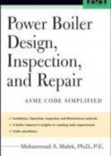 Обложка книги  - Power Boiler Design, Inspection, and Repair