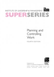 Обложка книги  - Planning and Controlling Work Super Series