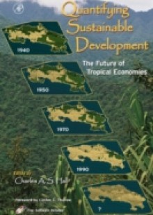 Обложка книги  - Quantifying Sustainable Development