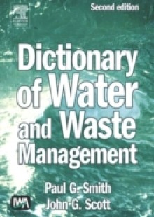 Обложка книги  - Dictionary of Water and Waste Management