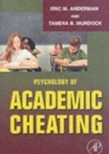 Обложка книги  - Psychology of Academic Cheating