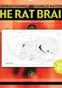 Обложка книги  - Rat Brain in Stereotaxic Coordinates