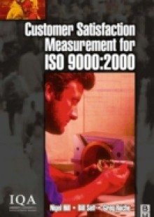 Обложка книги  - Customer Satisfaction Measurement for ISO 9000: 2000