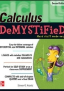Обложка книги  - Calculus DeMYSTiFieD, Second Edition