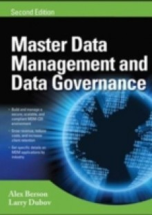 Обложка книги  - MASTER DATA MANAGEMENT AND DATA GOVERNANCE, 2/E