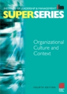 Обложка книги  - Organisational Culture and Context Super Series