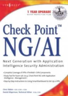 Обложка книги  - Check Point Next Generation with Application Intelligence Security Administration