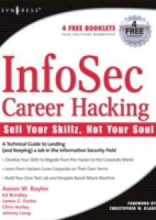 Обложка книги  - InfoSec Career Hacking: Sell Your Skillz, Not Your Soul