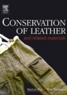 Обложка книги  - Conservation of Leather and Related Materials
