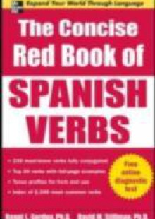 Обложка книги  - Concise Red Book of Spanish Verbs