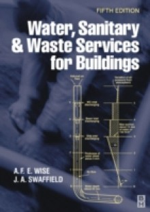 Обложка книги  - Water, Sanitary and Waste Services for Buildings