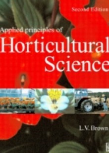 Обложка книги  - Applied Principles of Horticultural Science