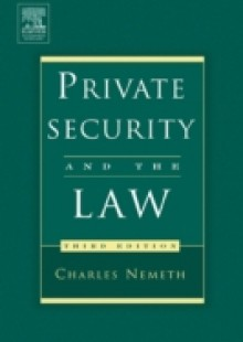 Обложка книги  - Private Security and the Law