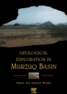 Обложка книги  - Geological Exploration in Murzuq Basin