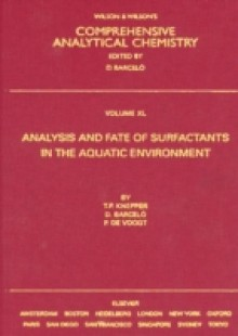 Обложка книги  - Analysis and Fate of Surfactants in the Aquatic Environment