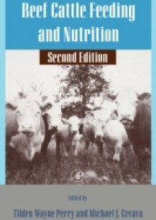 Обложка книги  - Beef Cattle Feeding and Nutrition
