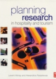 Обложка книги  - Planning Research in Hospitality & Tourism