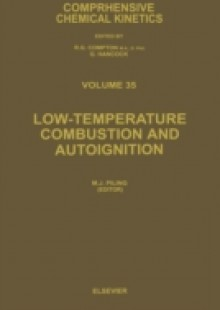Обложка книги  - Low-temperature Combustion and Autoignition
