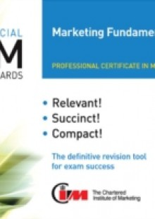 Обложка книги  - CIM Revision Cards Marketing Fundamentals