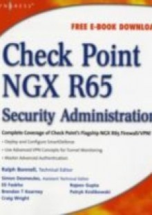 Обложка книги  - Check Point NGX R65 Security Administration