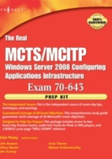 Обложка книги  - Real MCTS/MCITP Exam 70-643 Prep Kit