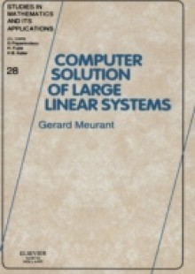 Обложка книги  - Computer Solution of Large Linear Systems