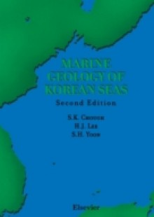 Обложка книги  - Marine Geology of Korean Seas
