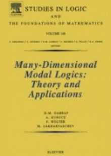 Обложка книги  - Many-Dimensional Modal Logics: Theory and Applications