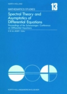 Обложка книги  - Spectral Theory and Asymptotics of Differential Equations