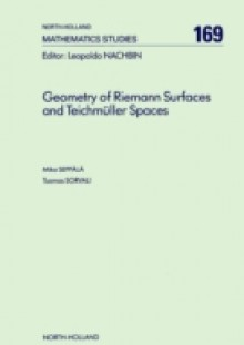 Обложка книги  - Geometry of Riemann Surfaces and Teichmüller Spaces
