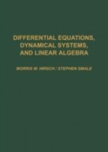 Обложка книги  - Differential Equations, Dynamical Systems, and Linear Algebra