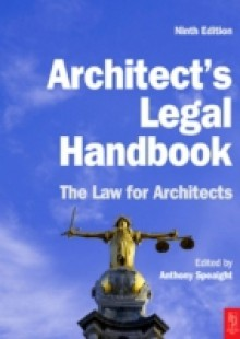 Обложка книги  - Architect's Legal Handbook