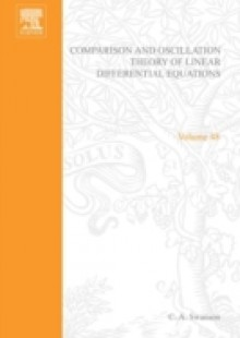 Обложка книги  - Comparison and Oscillation Theory of Linear Differential Equations by C A Swanson