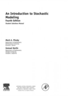 Обложка книги  - Introduction to Stochastic Modeling, Student Solutions Manual (e-only)