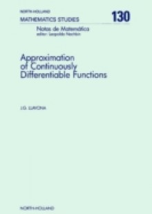 Обложка книги  - Approximation of Continuously Differentiable Functions