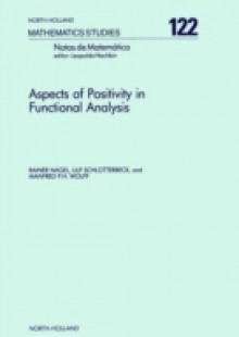 Обложка книги  - Aspects of Positivity in Functional Analysis