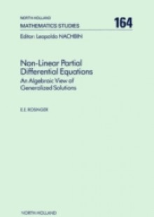 Обложка книги  - Non-Linear Partial Differential Equations