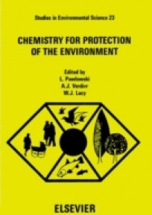 Обложка книги  - Chemistry for Protection of the Environment