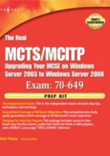 Обложка книги  - Real MCTS/MCITP Exam 70-649 Prep Kit