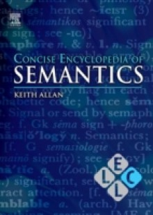 Обложка книги  - Concise Encyclopedia of Semantics