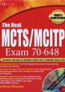 Обложка книги  - Real MCTS/MCITP Exam 70-648 Prep Kit